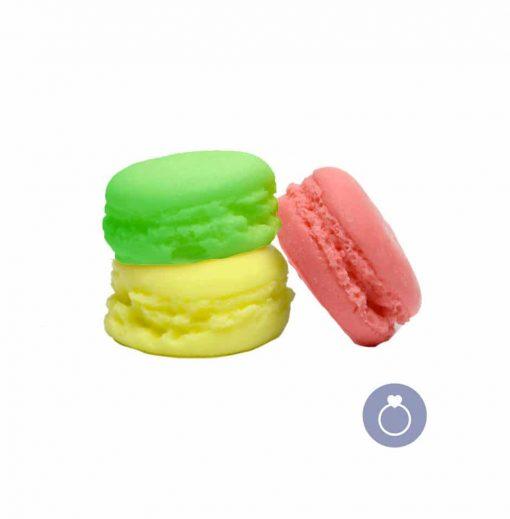 Savon macaron glycérine et beurre de karité avec bijou