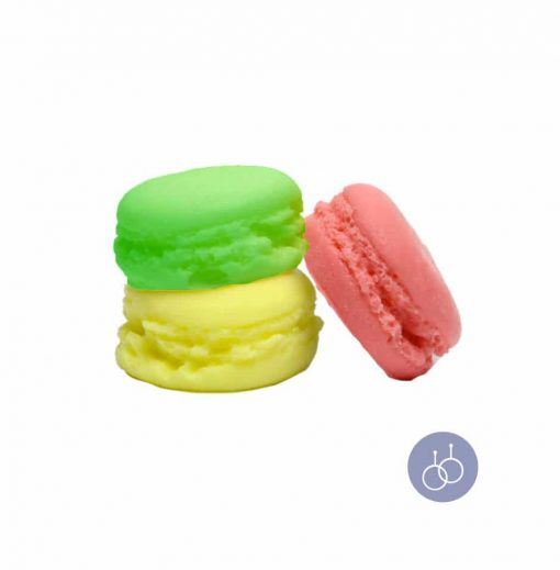 Savons macarons surprises avec bijou en argent 925