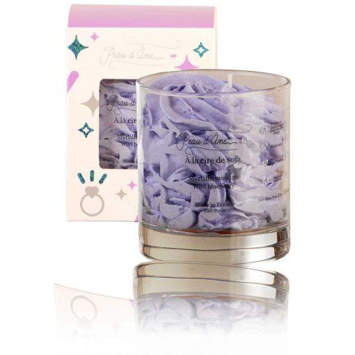 bougie bijou parfumée myrtille