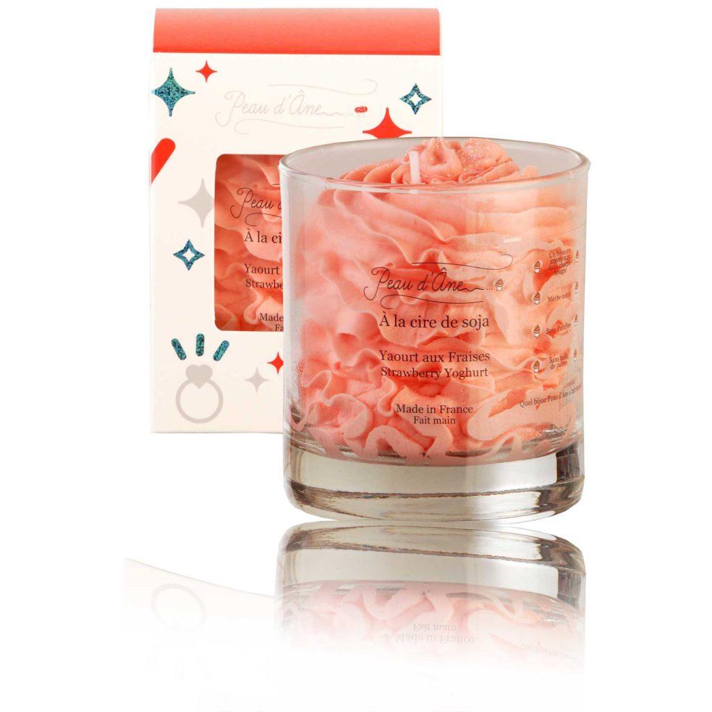 bougie bijou candle jewel fraise