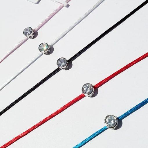 bracelet fil strass