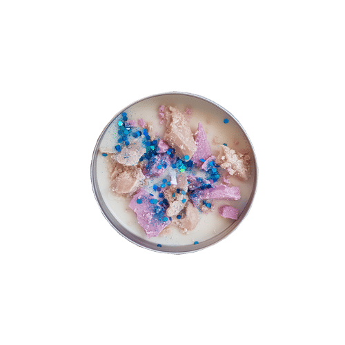 Bougie Pot alu Muffin Groseille