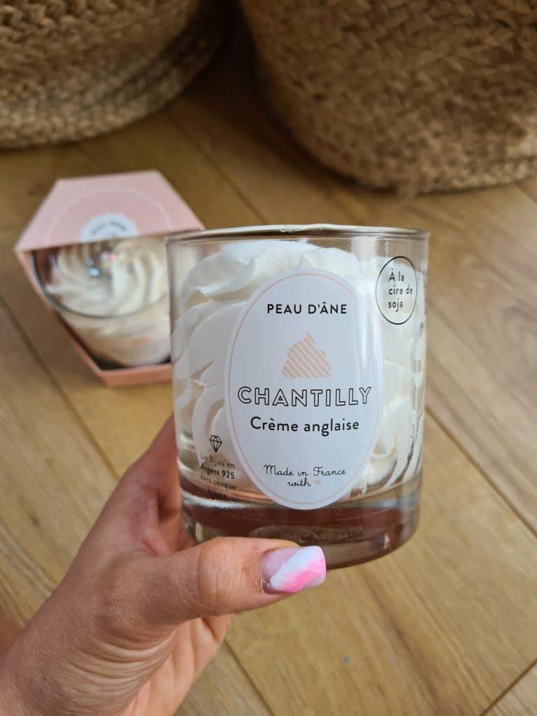 Bougie Bijou crème anglaise