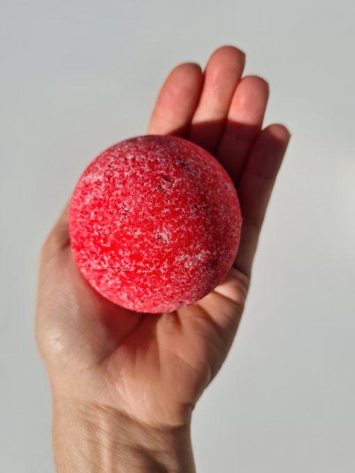 boule de bain fraise d'amour