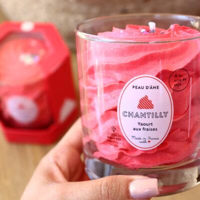 Bougie Bijou fraises
